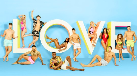 This image is strictly embargoed until 21.45 Monday 27th May 2019 From ITV Studios Love Island: SR5 on ITV2 Pictured: [Back row] Curtis Pritchard, Amy Hart, Joe Garratt, Yewande Biala, Anton Danyluk, Lucie Donlan, Anna Vikali, Amber Gill and Tommy Fury. [Front row] Michael Griffiths, Sharif Lanre and Callum Macleod. This photograph is (C) ITV Plc and can only be reproduced for editorial purposes directly in connection with the programme or event mentioned above, or ITV plc. Once made available by ITV plc Picture Desk, this photograph can be reproduced once only up until the transmission [TX] date and no reproduction fee will be charged. Any subsequent usage may incur a fee. This photograph must not be manipulated [excluding basic cropping] in a manner which alters the visual appearance of the person photographed deemed detrimental or inappropriate by ITV plc Picture Desk. This photograph must not be syndicated to any other company, publication or website, or permanently archived, without the express written permission of ITV Picture Desk. Full Terms and conditions are available on the website www.itv.com/presscentre/itvpictures/terms For further information please contact: james.hilder@itv.com / 0207 157 3052