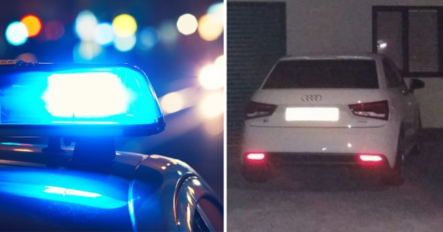 A 14-year-old boy was stopped by police driving his mum's Audi. It was 3am in the morning and police said he 'thought about not stopping' when spotted by a GMP Traffic patrol car
