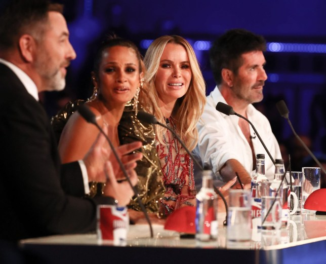 The Britain's Got Talent judges at the first live semi-final of 2019
