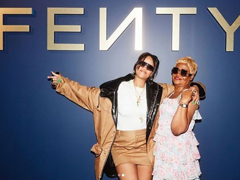 Rihanna teams up with mum Monica to promote new Fenty line and it's everything