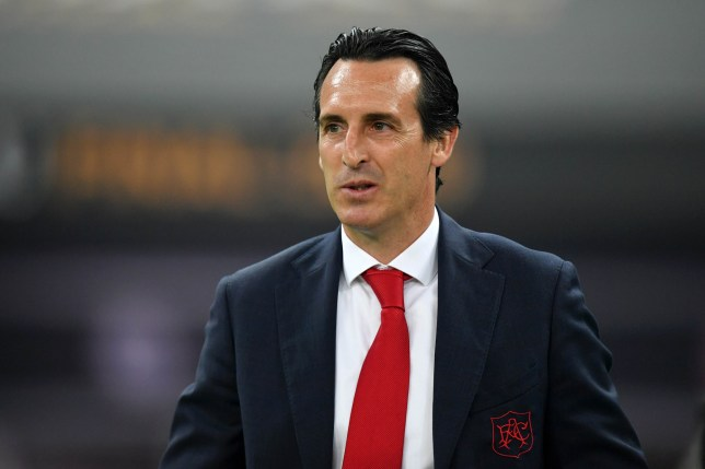 Unai Emery is expected to have a budget of just £45m
