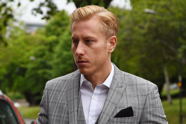 Kris Boyson arrives at Medway Magistrates' Court in Chatham, Kent, where he is charged with the use of threatening, abusive and insulting words and behaviour with intent to cause fear or provoke unlawful violence. PRESS ASSOCIATION Photo. Picture date: Friday May 31, 2019. Mr Boyson, boyfriend of Katie Price, denies the charge which relates to an incident near his home in Gravesend, Kent, in October 2018. See PA story COURTS Boyson. Photo credit should read: Kirsty O'Connor/PA Wire