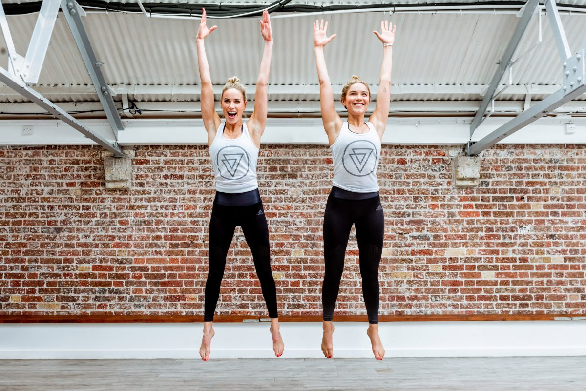 This serotonin-boosting workout promises to make you feel happier