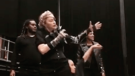 Madonna teases Eurovision performance 'for her fans' as she arrives in Tel Aviv