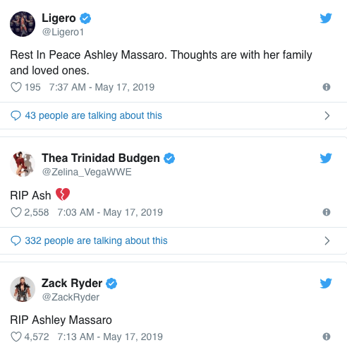 WWE fighter Ashley Massaro dead at 39 | Metro News