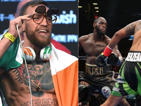 Conor McGregor heaps praise on Deontay Wilder after knockout of Dominic Breazeale