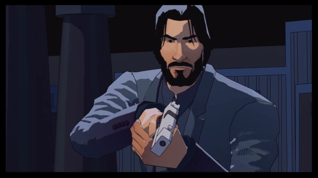 John Wick Hex - not the sort of tie-in you'd expect