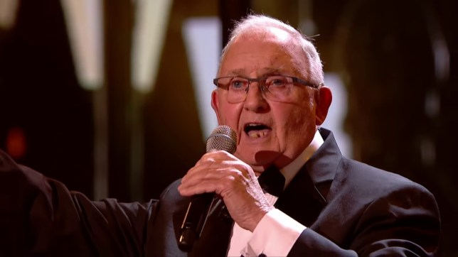 Henry Hall from The Pensionalities who appeared on Britain's Got Talent
