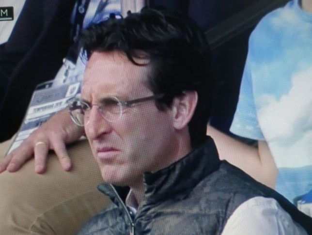 Unai Emery was spotted at Saturday's La Liga match between Levante and Atletico Madrid
