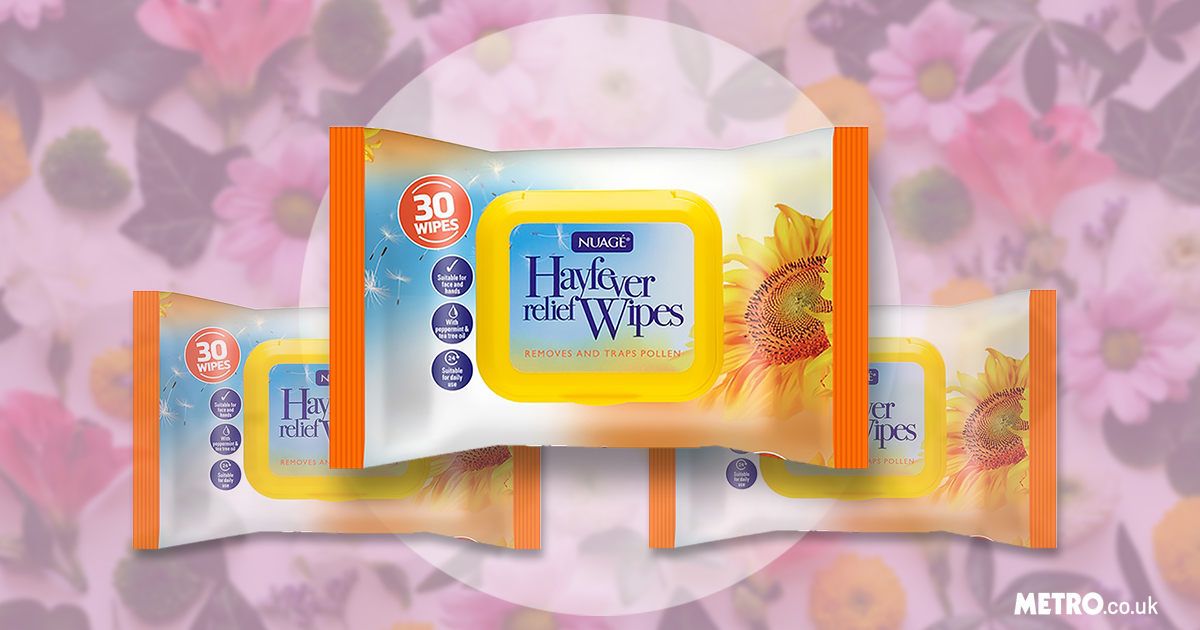 People are loving these 99p hay fever wipes that promise to remove and trap pollen