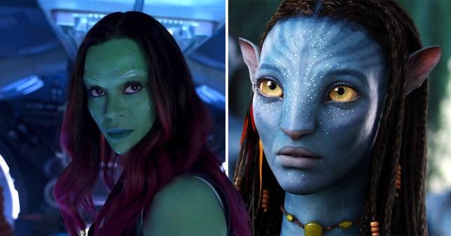 Avengers: Endgame Zoe Saldana stars in top two highest