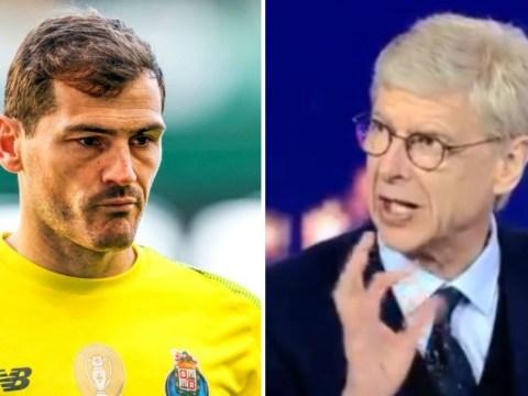 Arsene Wenger sends heartfelt message to Iker Casillas after heart attack