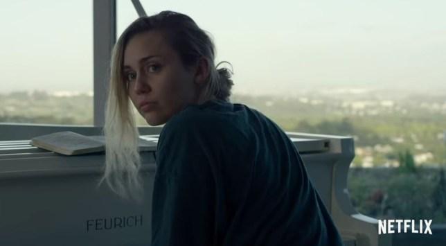 Miley Cyrus in Black Mirror trailer