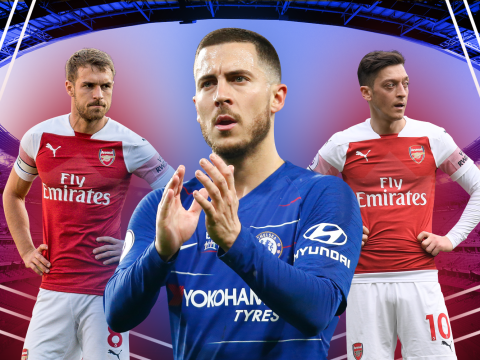 Eden Hazard prepares for perfect Chelsea send-off in Europa League final as Arsenal rue contract missteps