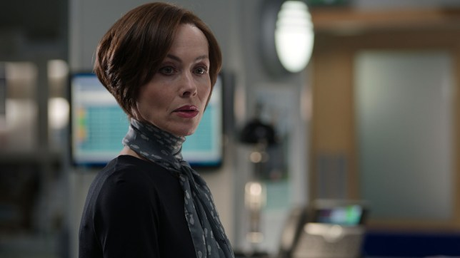 Connie beauchamp, played by amanda mealing in casualty