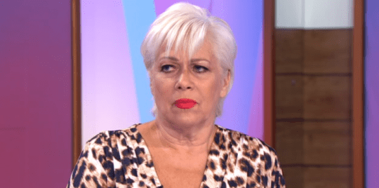 Denise Welch on Loose Women