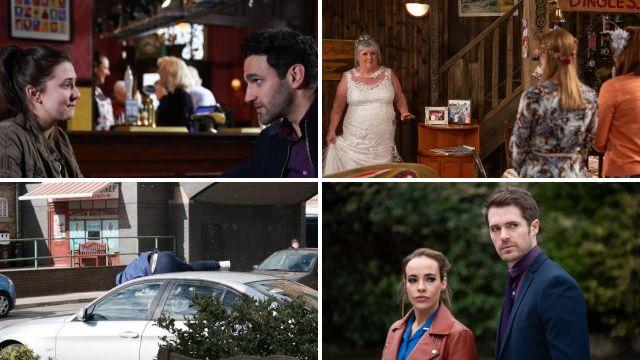 10 soap spoilers: Coronation Street hit and run, huge Emmerdale wedding, EastEnders death fears, Hollyoaks hostage