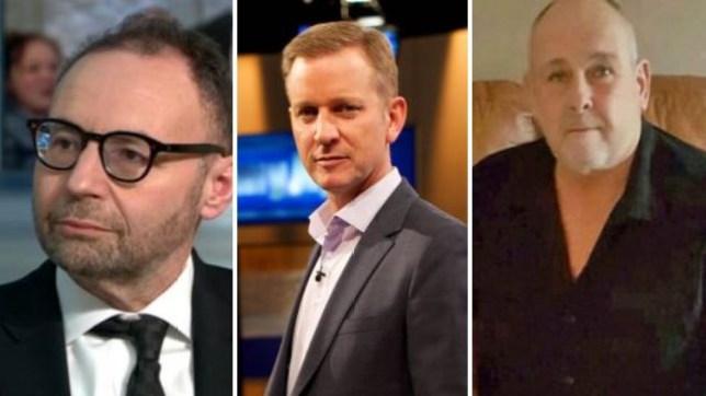 Professor Jonathan Shalit, Jeremy Kyle, Steve Dymond