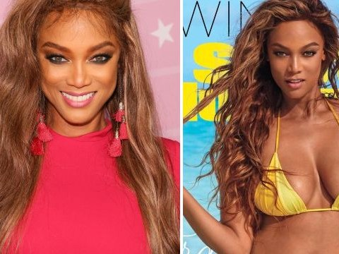 Tyra Banks is comeback bikini queen with breathtaking Sports Illustrated cover