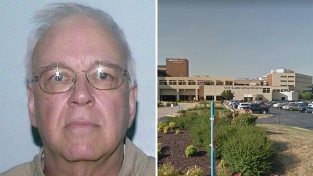 Disgraced priest Frederick Lenczycki sexually abused two boys while working as chaplain at the DePaul Medical Center in St Louis, Missouri