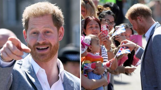 Prince Harry tours Oxford