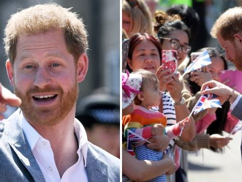 Prince Harry says he's getting sleepless nights because of Archie