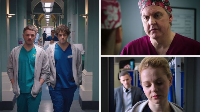 7 Holby City spoilers: Lofty's return throws Dominic into turmoil as a face from the past returns