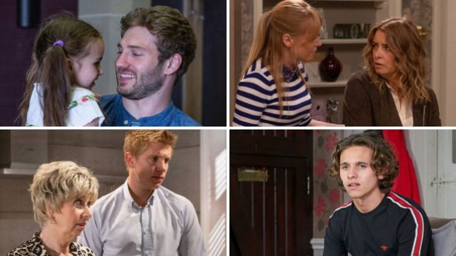 Emmerdale spoilers for Jamie, Vanessa, Charity, Robert and Jacob