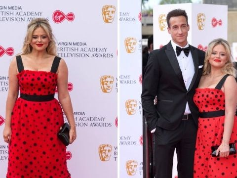 Emily Atack makes red carpet debut with new boyfriend and it's all kinds of cute