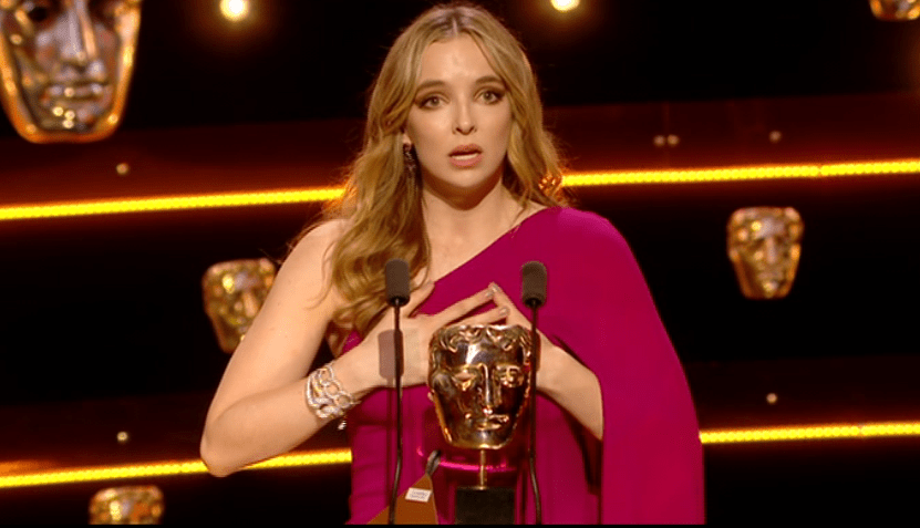 Killing Eve's Jodie Comer up for MTV Movie and TV award after tearful Bafta acceptance