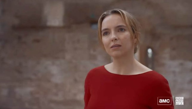 Killing Eve's Villanelle played by Jodie Comer