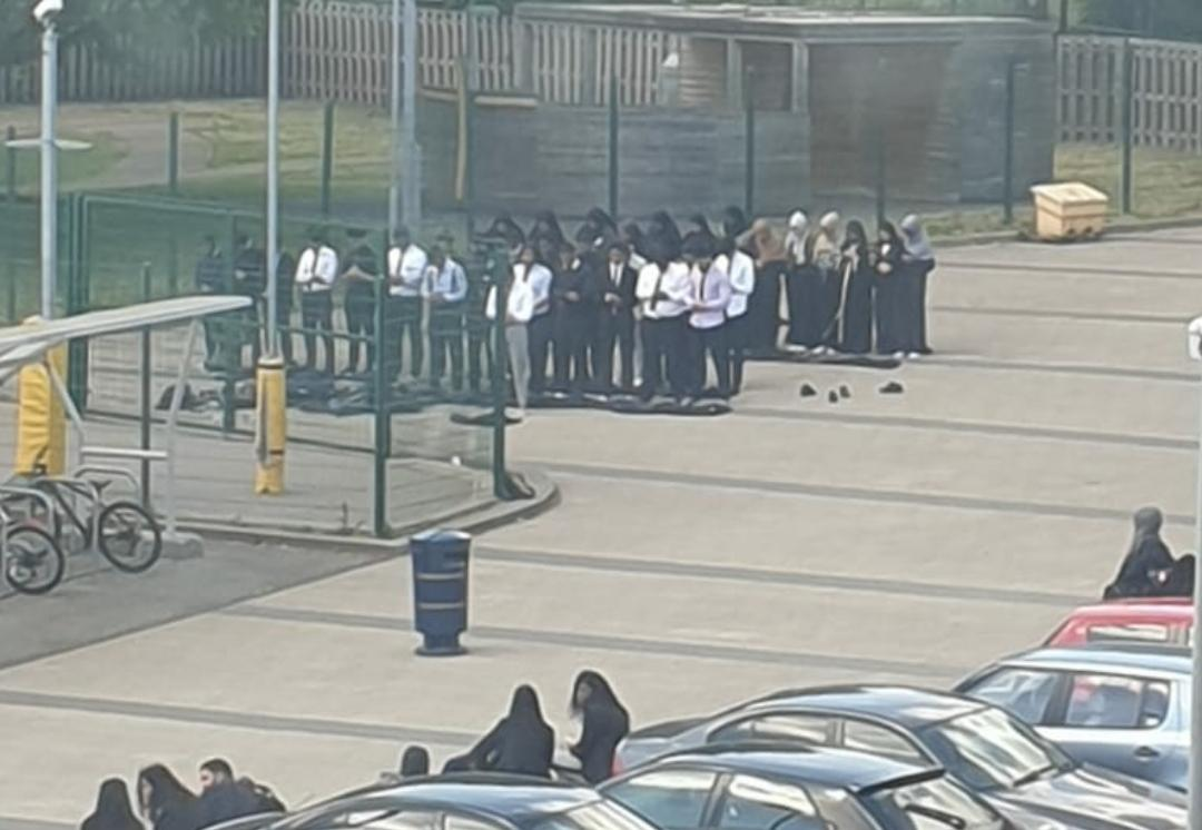 Muslim students 'forced to pray in car park during Ramadan'