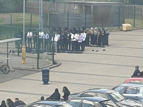 Muslim children 'forced to pray in car park during Ramadan'