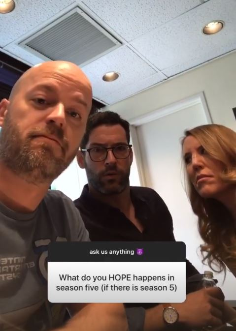 Lucifer's Tom Ellis pretty much confirms season 5 – as show-writers tease 'full-frontal' scenes