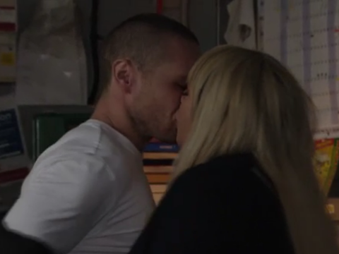 EastEnders spoilers: Sex shock as Keanu Taylor and Sharon Mitchell resume their passionate affair