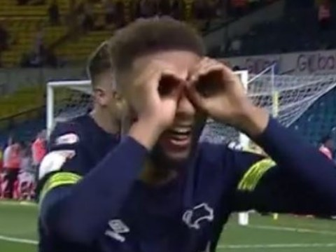 Derby players taunt Leeds with 'spygate' celebration following dramatic play-off semi-final win