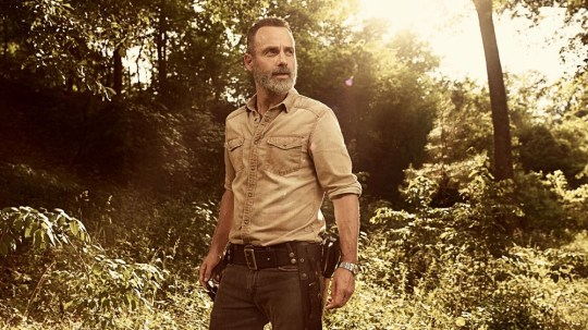 The Walking Dead Rick Grimes