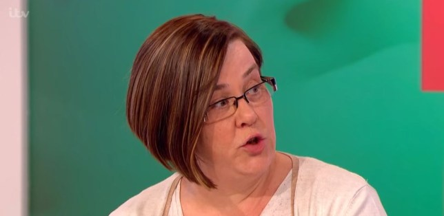 White Dee on Loose Women