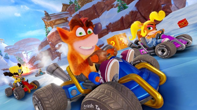 Crash Team Racing Nitro-Fueled - how much do you let your kids play?