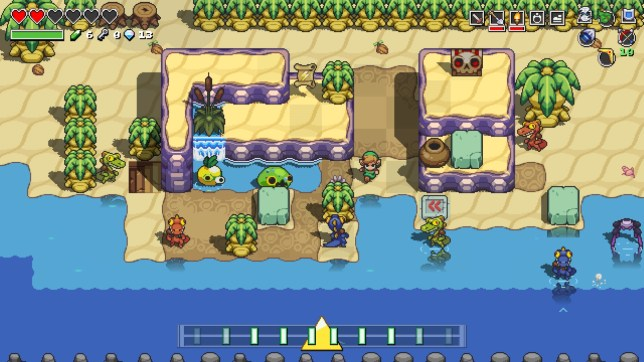 Games Review Cadence Of Hyrule Is The Strangest Zelda Game Ever Metro News