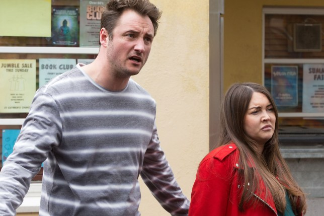 Stacey and Martin in EastEnders