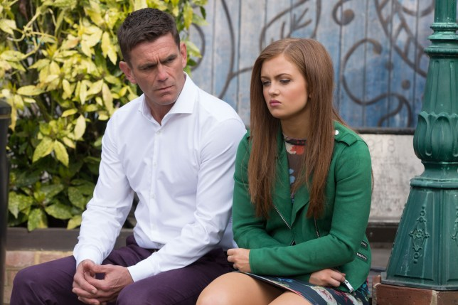 tiffany butcher and jack branning in eastenders