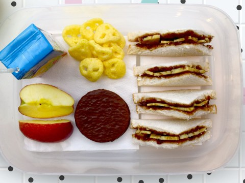Photos reveal how kids' packed lunches have changed over the years