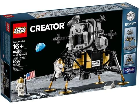 LEGO unveils NASA Apollo 11 Lunar Lander for Moon landing 50th anniversary