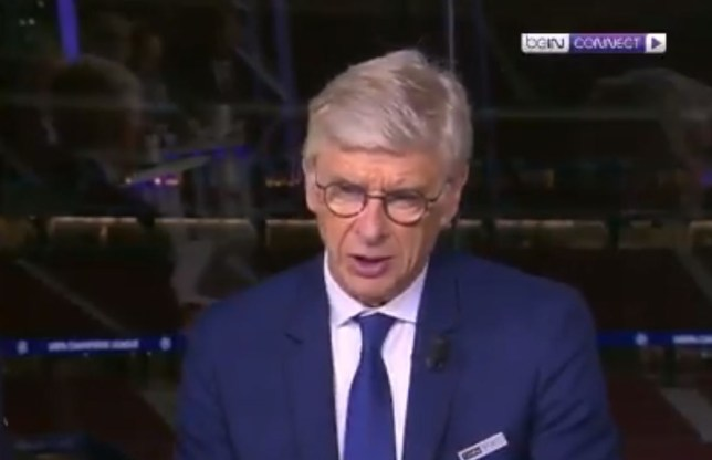 Arsene Wenger was not happy with Arsenal's display in the Europa League final against Chelsea