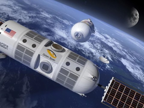 Future spacecraft will be like luxury cruise liners people use for holidays