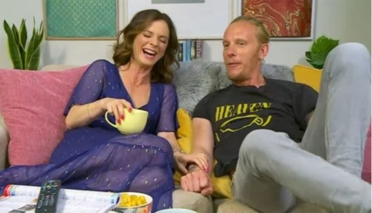 Emilia Fox's cousin Laurence Fox Gogglebox