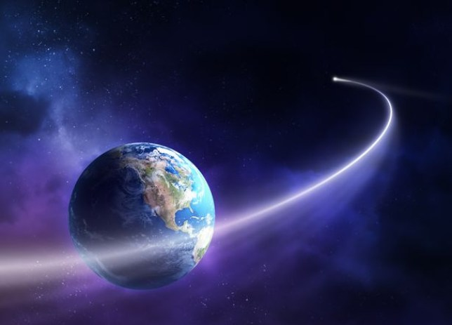 The comet is expected to blaze past Earth on September 9 (Shutterstock)