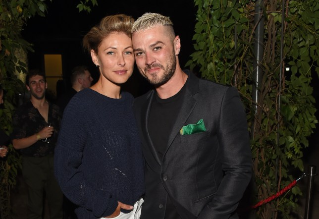 Emma Willis and husband Matt Willis