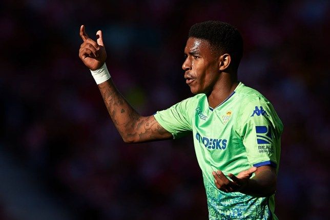 Man United and Liverpool are looking to bring Junior Firpo to the Premier League